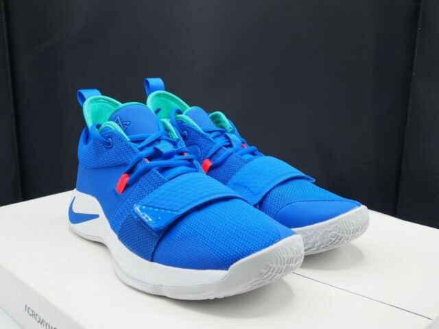 9755c395cfd1 Nike PG 2.5 Racer Blue Basketball Shoes Size 8.5 Mens Bq8452 401 for ...