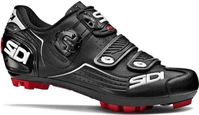 SIDI Eagle 7 Black//Black//Blue 36-48 2018 New MTB Bike Bicycle Cycling Shoes