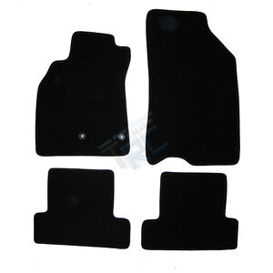 4 tapis sol renault megane 3 coupe 2 0 t rs moquette noir specifique ebay. Black Bedroom Furniture Sets. Home Design Ideas