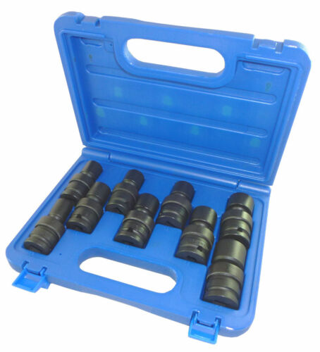 Impact Socket Set Britool LUPMSET9 9 Pce 1//2″ Dr UJ MM Universal Swivel Joint