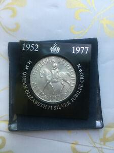 1952-1977-ELIZABETH-CROWN-COMMEMORATIVE-BRITAIN-COIN