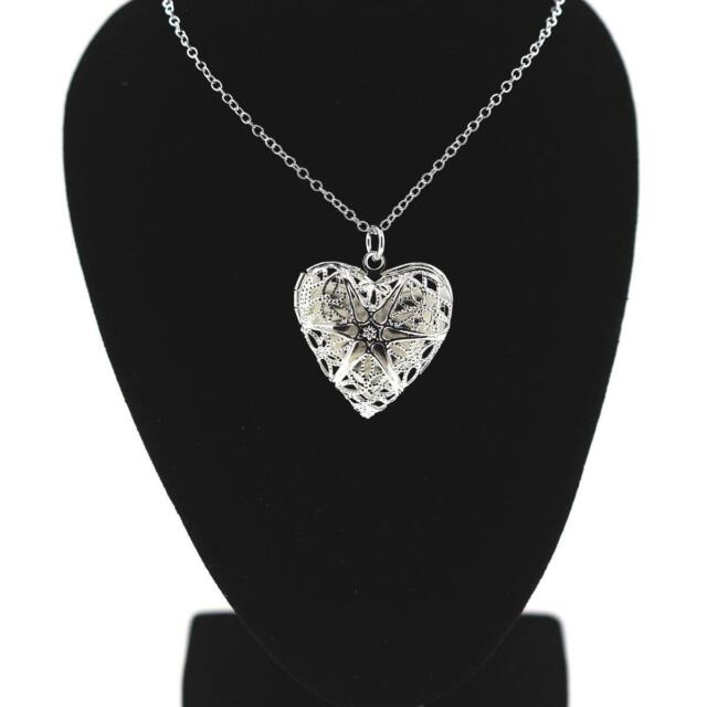 Pendant Necklace Heart Silver 925 + Chain