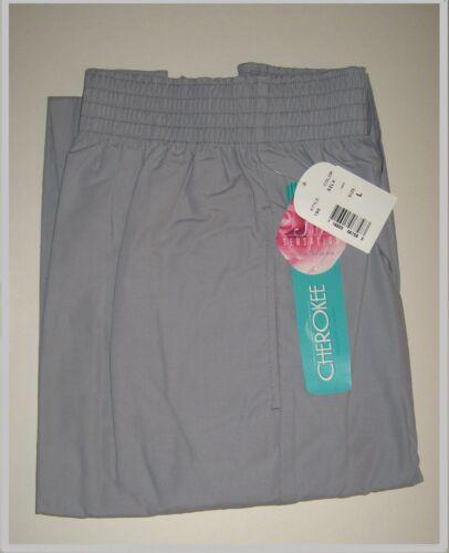 Cherokee Scrubs Tire de tacto suave estilo 190 Pantalones De Plata//Gris UK 18