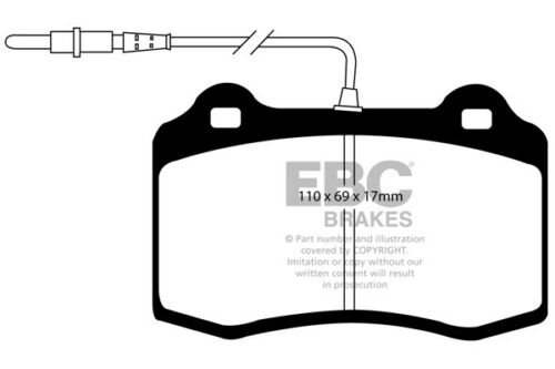 EBC Ultimax Front Brake Pads for Peugeot 406 Coupe 3.0 97 /> 04