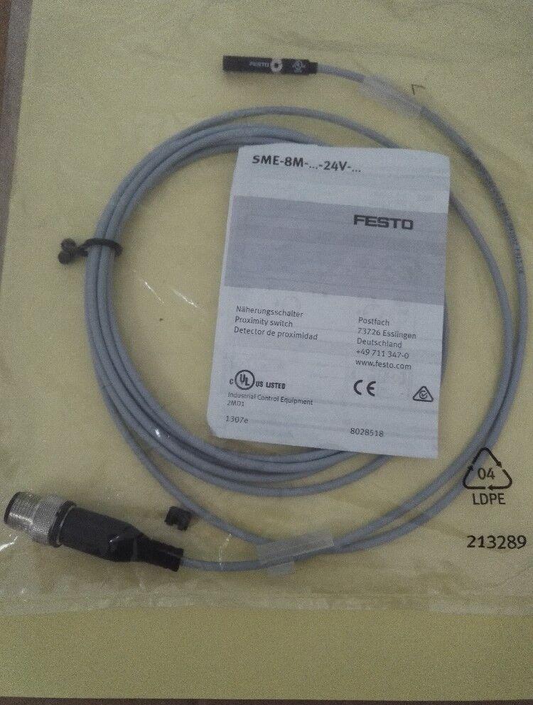 1pcs FESTO sensor SME-8M-DS-24V-K-2.5-M12 543892