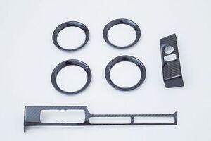 Fibra-De-Carbono-Acabado-Interiores-Juego-Capa-Tapa-Apto-Para-09-14-GT-R-GTR-R35