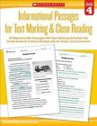 Informational Passages for Text Marking & Close Reading: Grade 4  : 20 Reproducible Passages with Text-Marking Activities That Guide Students to Read Strategically for Deep Comprehension by Marcia Miller, Martin Lee (Paperback / softback, 2015)