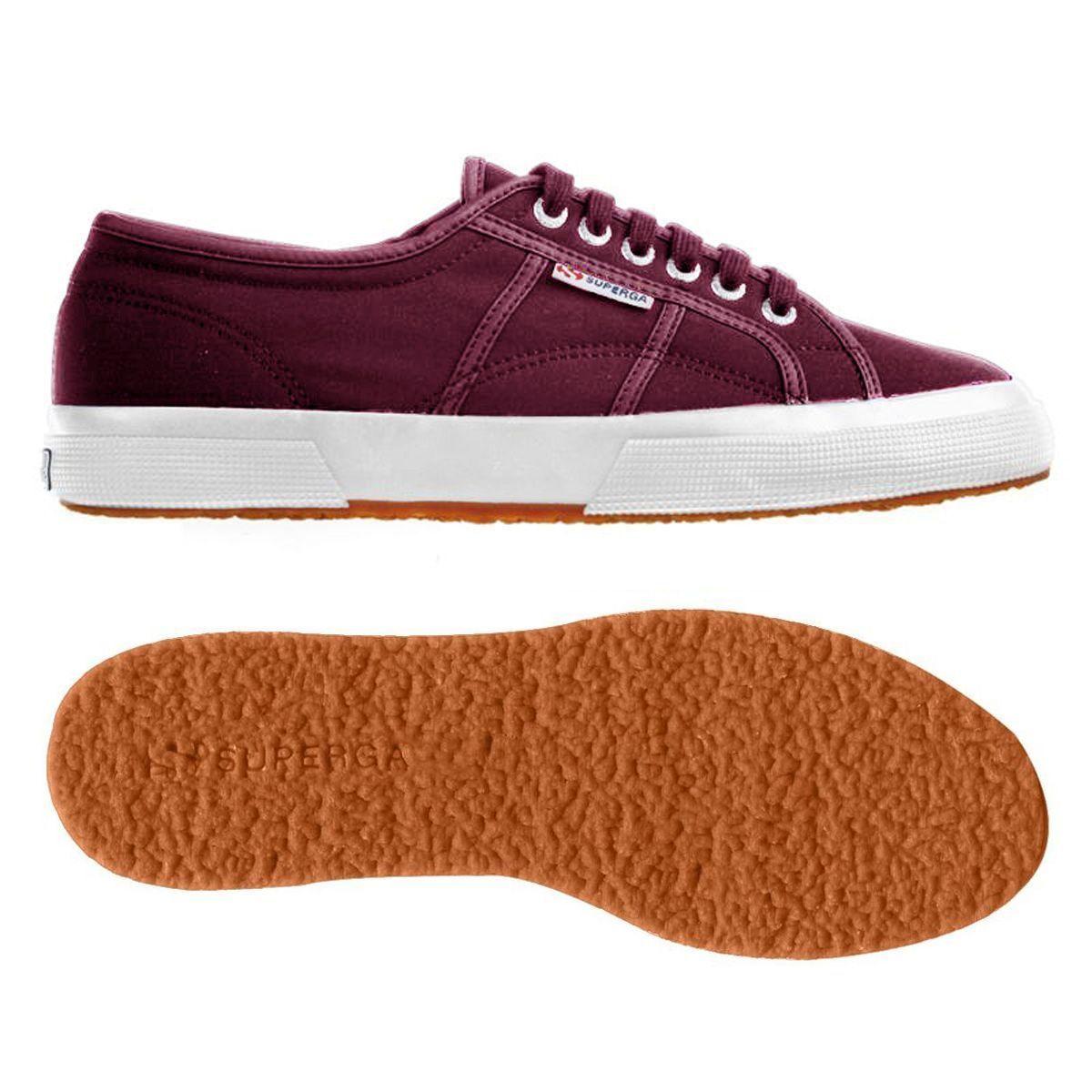 Superga 2750 Plus Nylu Fashion Sneakers Women's - Bordeaux S00APB0