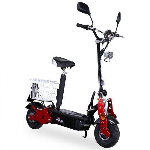 Eflux Street 40 kmH Elettrico MotorinoEScooter Scooter Nero Autorizzazione