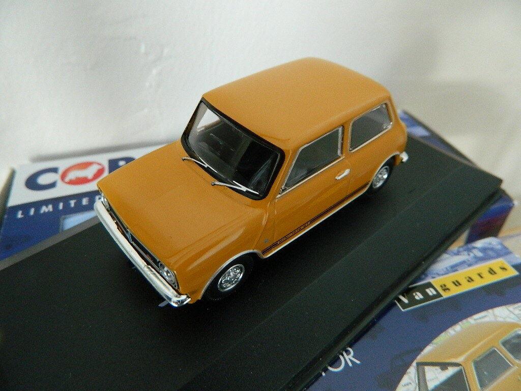 Vanguards Corgi VA13500 Mini 1275 GT Bronze Yellow 'Trevor'