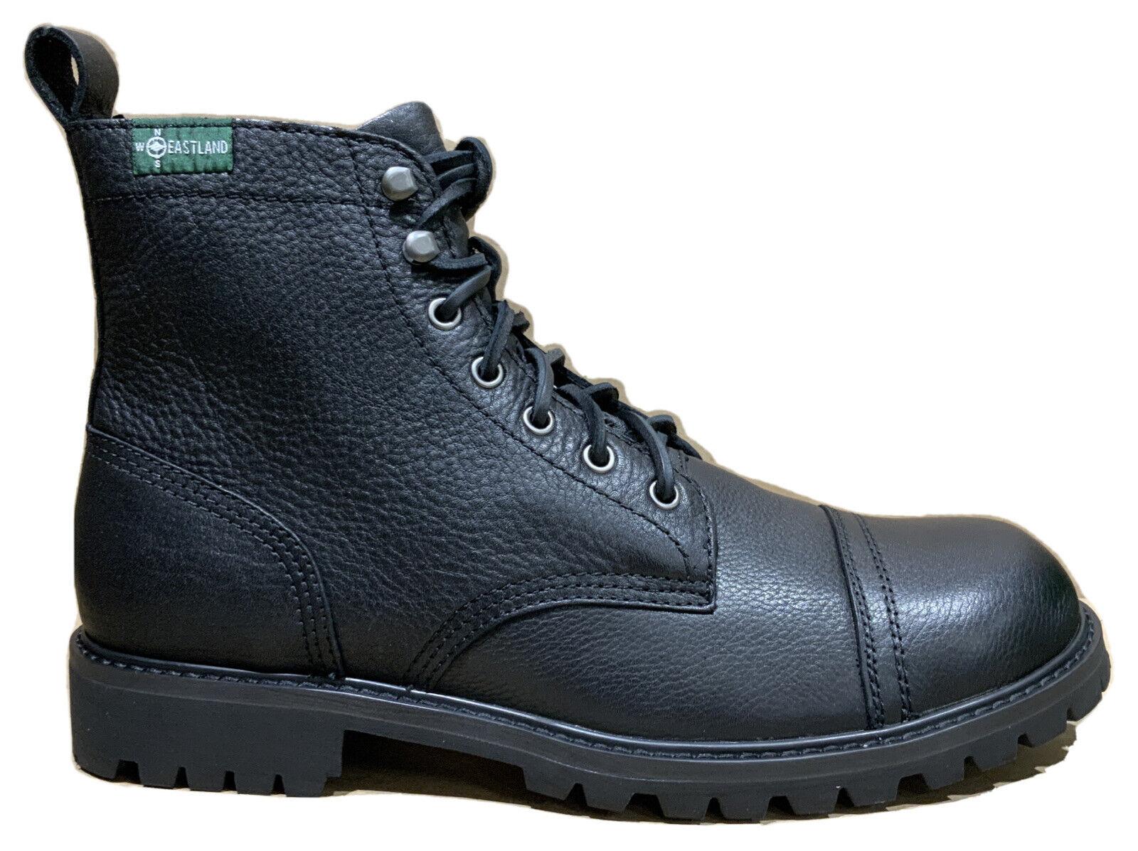 EASTLAND Ethan 1955 Black 7019-01D Men's Leather Boots size 11.5 Medium