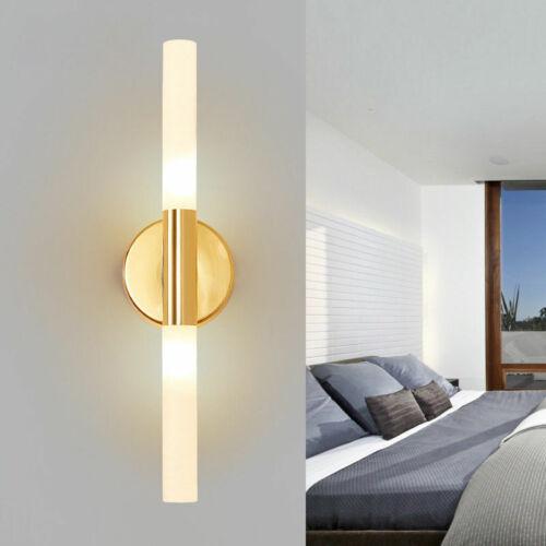 Gold//Black Modern LED Wall Lamp Bedroom Living Room Toilet Bathroom Wall Lights