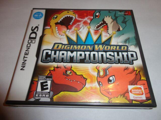 Digimon World Championship  (Nintendo DS, 2008) NEW DSL DSI 3DS