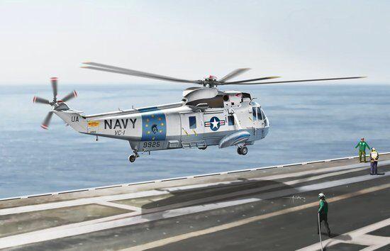 Dragon 1 72 SH-3G Sea King  U.S. Navy Utility Transporter