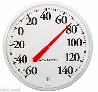Easy To Read Extra Large Number Outdoor Outside Exterior Thermometer Made In Usa