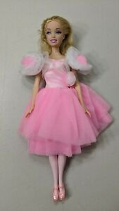 Mattel-Barbie-Ballerina-Doll-With-Dress-and-Shoes