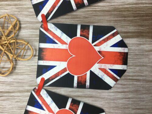 Union Jack Drapeaux Bruant Drapeau UK Fête Pendaison Angleterre British VE Day FB76a