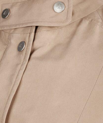 Us4 Silk Beige It40 New Brand Coat Jacket Camel Ladies Aquascutum Uk8 Tag Pure pwZzzg