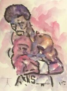 ORIGINAL-African-American-Urban-Watercolor-painting