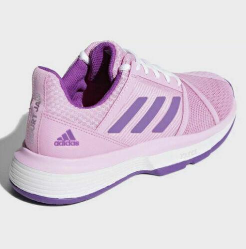 Adidas  Court Jam Bounce, Tennis Shoes-Pink/purple