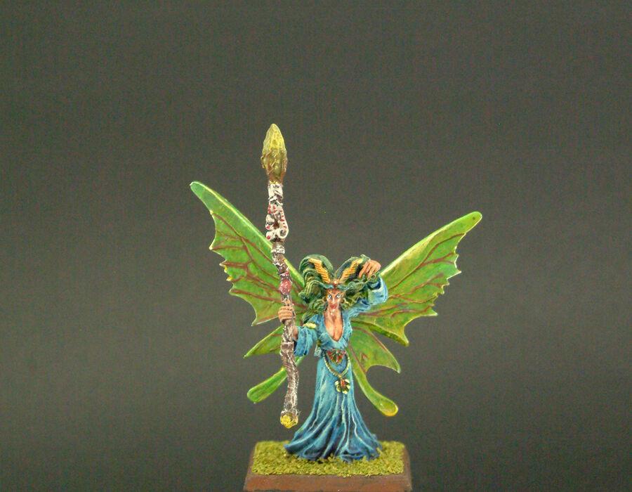 TMC Pintado Metal Ariel, Mage Reina De Avelorn-Warhammer Fantasy Wood Elf