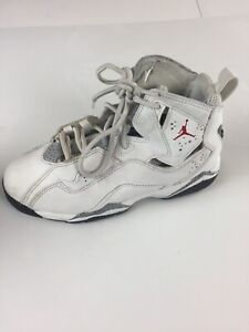 4f82739a8057c Details about Air Jordan True Flight Shoes Boys Size 13C Multi Color  Leather 343796-121