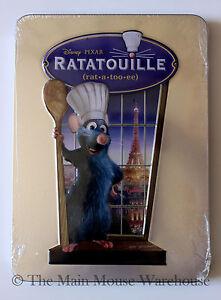 Disney Pixar Ratatouille On Dvd In Real 3d Collectible Tin