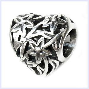 925-Sterling-Silver-Filigree-Tree-of-Life-Flower-Bead-f-European-Charm-Bracelet