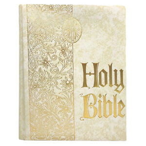 Holy-Bible-Family-Circle-Edition-Illustrated-Red-Letter-Riverside-1971