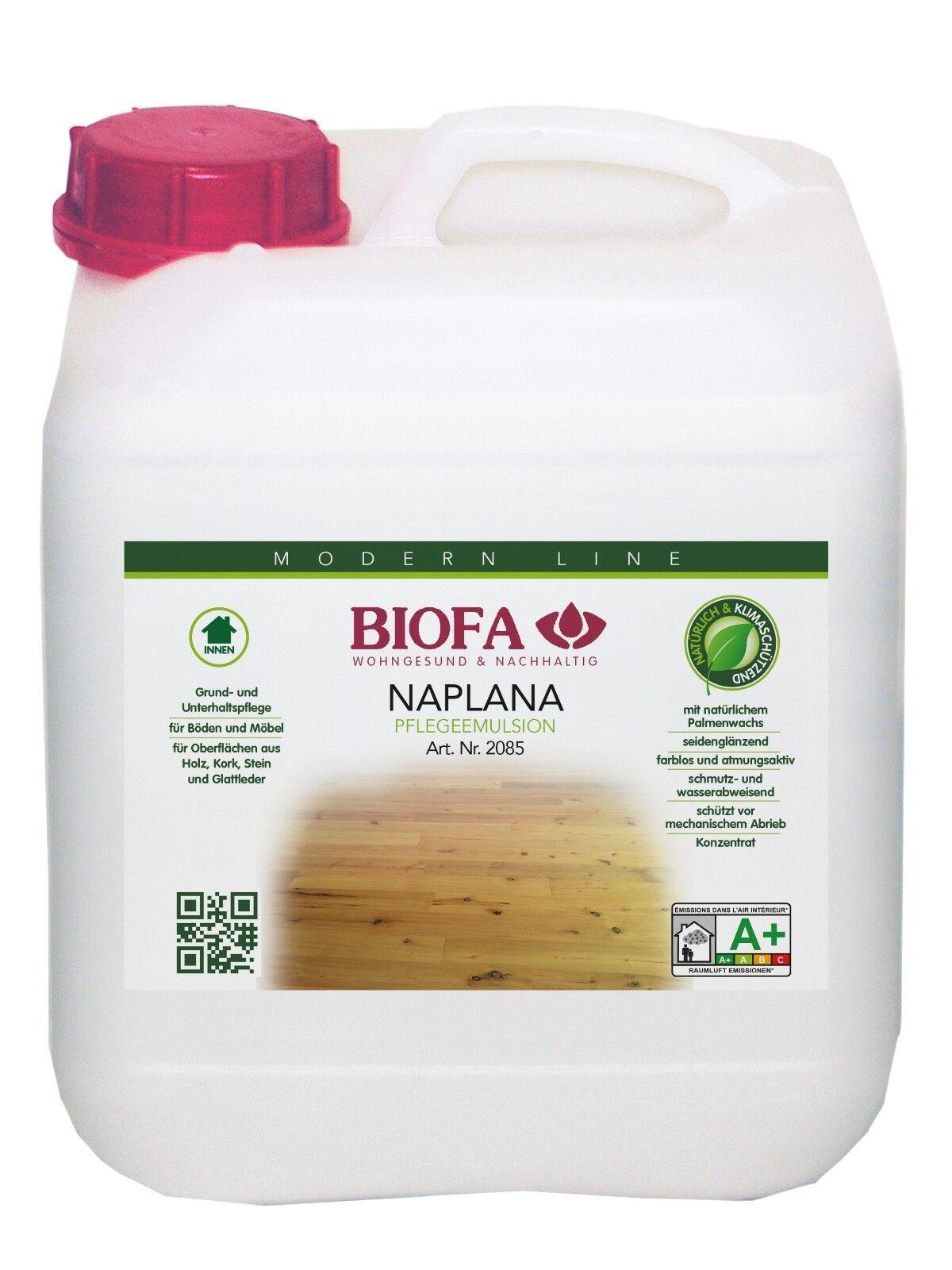 (  L) Biofa Biofa Biofa NAPLANA Pflegeemulsion 5 Liter 605d44