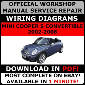 OFFICIAL-WORKSHOP-Repair-MANUAL-for-MINI-COOPER-S-CONVERTIBLE-2002-2006