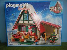 PLAYMOBIL #5976 CHRISTMAS SANTA'S HOUSE  *NEW*