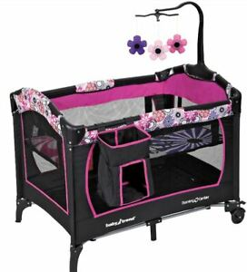 BABY-BASSINET-Infant-Nursery-Center-Bed-Playard-Sleeper-Cradle-Playpen