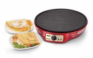 ARIETE 183 Crepes Maker Party Time - Macchina per crèpes e pancake 1000W