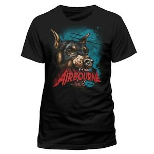 Airbourne-Dog-Shirt-S-M-L-XL-Official-T-Shirt-Metal-Rock-Band-Tshirt