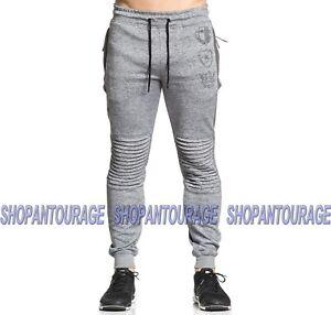American Fighter Socavar 331pt027 New Men S Gris Jogger Pantalones De Pista Ebay
