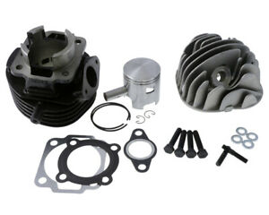 Zylinder-Kit-Polini-Gray-Cast-Iron-Racing-75ccm-47mm-for-Vespa-Pk-50-82-88-V5X1T