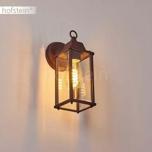 Vetro muro esterno Lampade Ruggine TERRAZZE BALCONE CASA Porta Vialetto Illuminazione Cortile