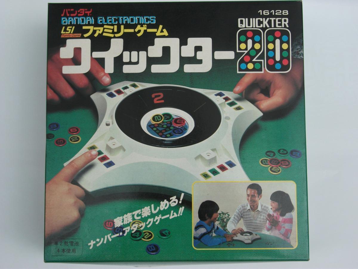 Bandai LSI juego de la familia quickter 20