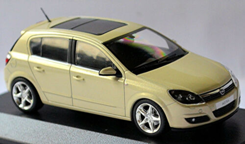 Opel Astra H 5-türig 2006-09 Papyrus beige metallic 1:43 Minichamps