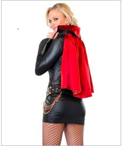 NEW Leg Ave 2pc Jailhouse Rock Star Costume Halloween Elvis Vegas FreeShip