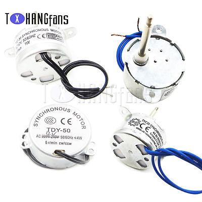 w//hex-nut ATF S TYC 30 50 synchronous motor 6V 12V AC 5RPM CCW//CW 1-4W
