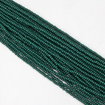 #CSF062 10 Gm, Hank, 1//2 Kilo 10//0 Opaque Multi-Color Mix Czech Seed Bead