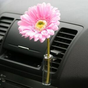 Image Is Loading Auto Car Gl Clip Flower Vase Bud Kit