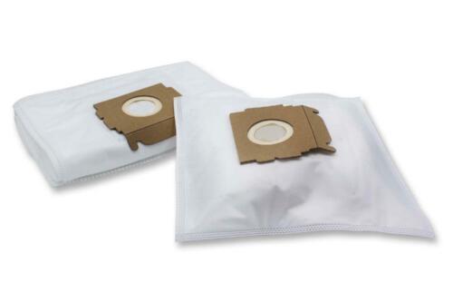 10x Sacchetti di polvere micro fibre VHBW per Moulinex Powerclean 1250,1350