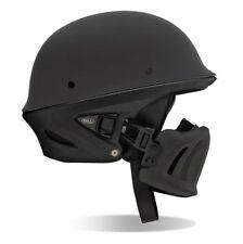 BELL Rogue Half Helmet Harley Chopper Street Bike XL Matte Black