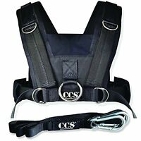 Sled Harness With Pulling Strap Fits All Adults To 50 Girth