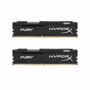 For-Kingston-HyperX-FURY-16GBx2-32GB-DDR4-2666MHz-PC4-21300-288pin-Desktop-ARM