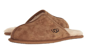 UGG Men's Scuff Slipper, Chestnut, 7 M US