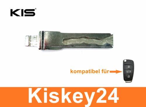 1x Ersatz Schlüssel mit Schleifen Nachmachen Fräsen für Audi A2 A3 A4 A6 A8 TT